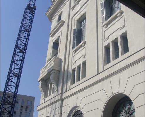 Restauración de edificios de patrimonio público