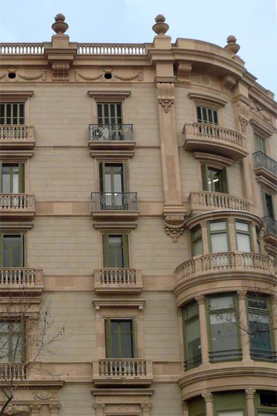 Rehabilitacion fachadas Passeig de gracia 61