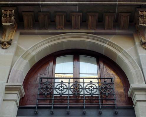 Restauración fachada edificio Barcelona