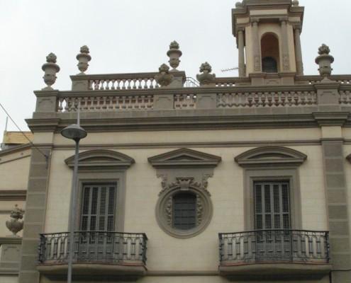 Restauración edificios fachada Badalona Barcelona