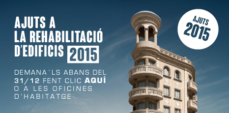 Ajudes rehabilitació façanes barcelona